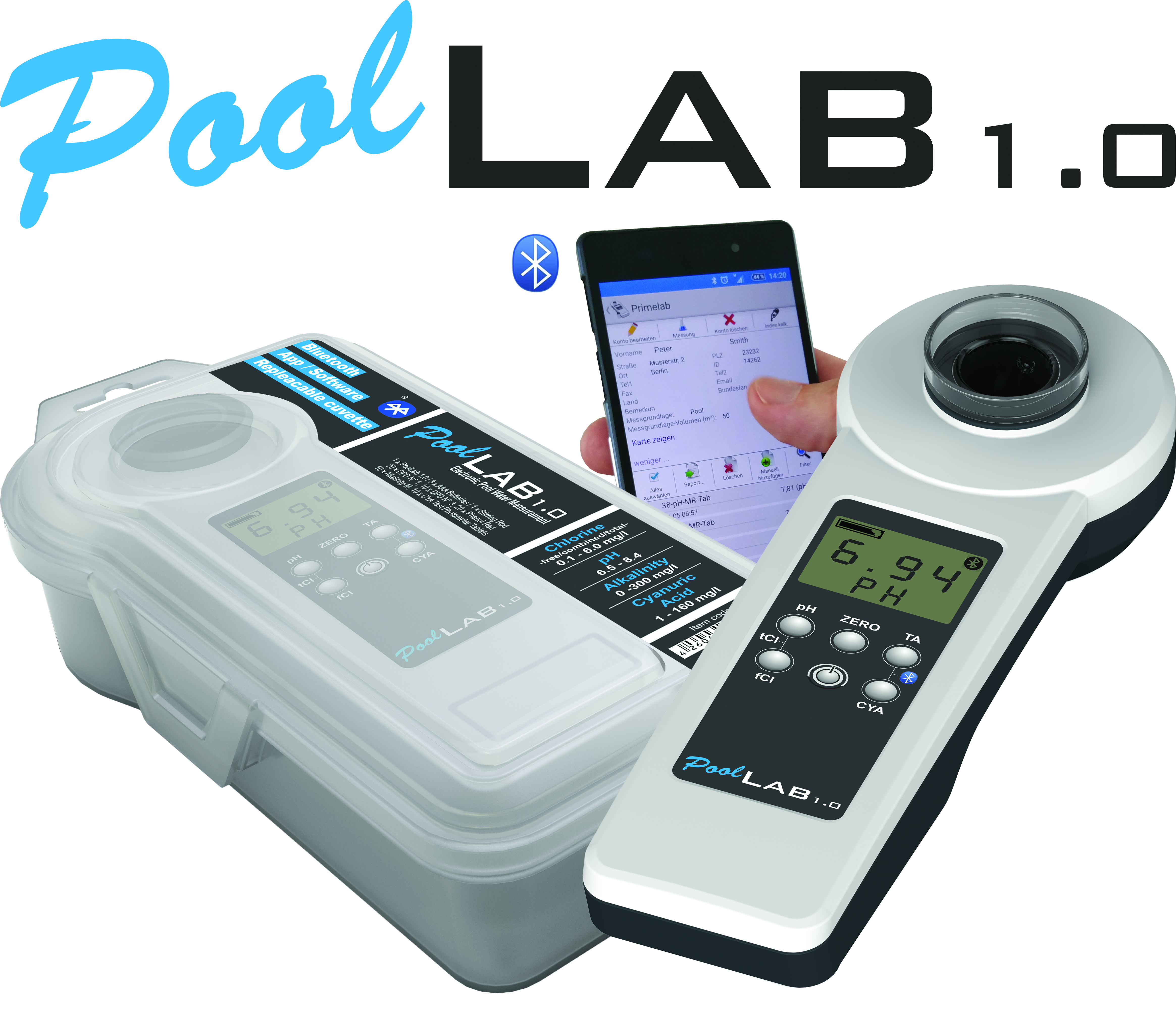 PoolLab - Professional water tester