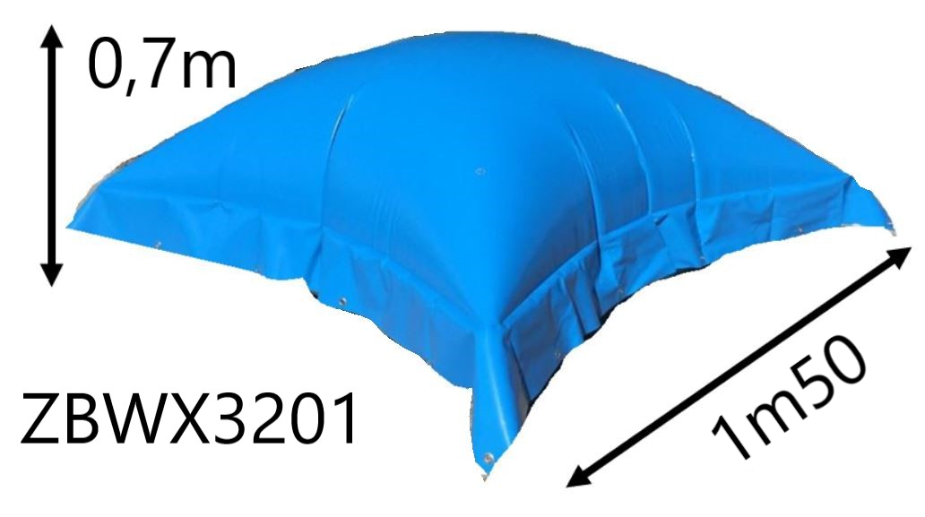 Inflatable wiinter cover cushion