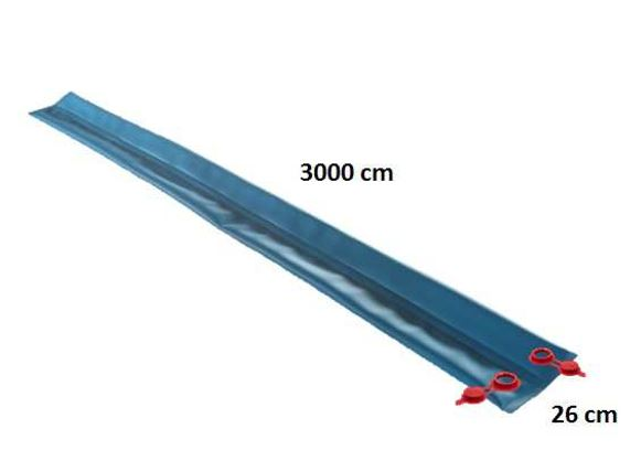 Double tube for hermetically sealing winter cover - 3m