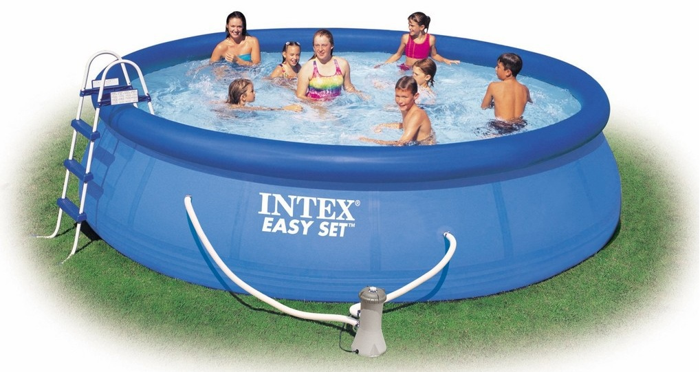 easy set inflatable swimming pools intex rudy. Black Bedroom Furniture Sets. Home Design Ideas