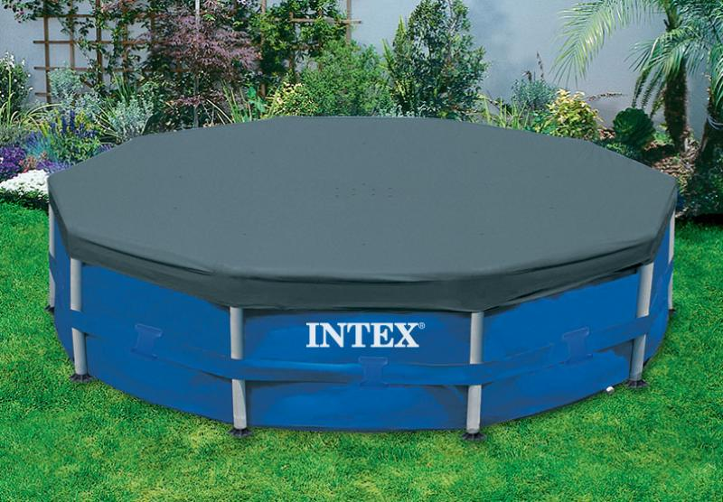 intex metal frame swimming pool