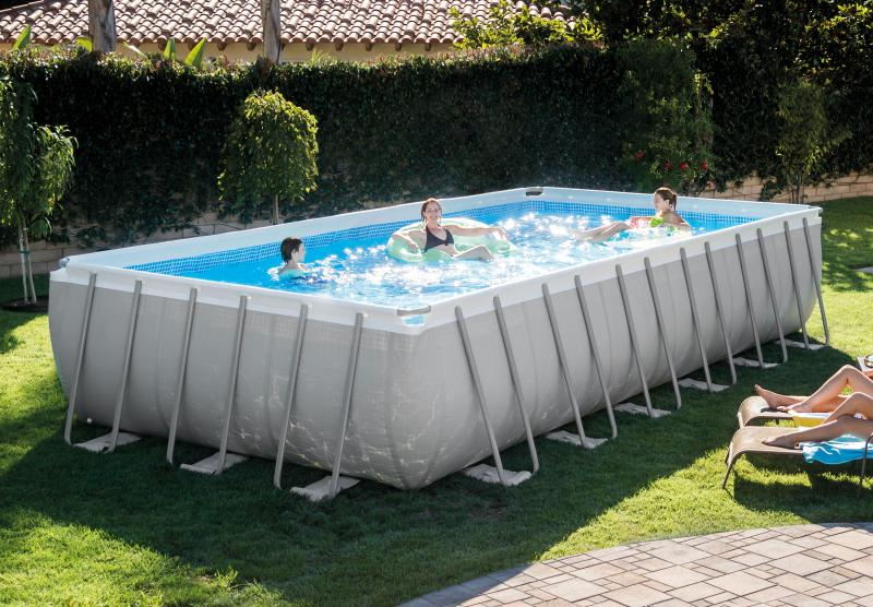 Intex ultra frame rectangular intex rudy for Intex rectangular swimming pool