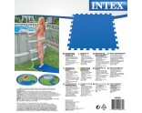 Padded floor for protection of your pool bottom + insulation
