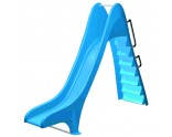 Water slide swimming pools: straight with various heights