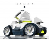 MANGA+ wireless robotic pool cleaner