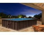 Liner 75/100 for rectangular wooden pool Summer Oasis 600 x 419 x 131 cm