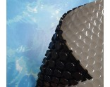 Luxury anti-algae bubble cover (grey-black 400 micron) for Intex XTR swimming pool
