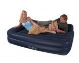 Intex Pillow Rest Queen Airbed Air bed with Built-in pump 66702