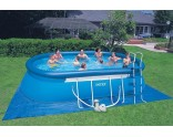 Oval frame pool Intex