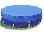 Intex 12' Metal Frame Pool Debris Cover - Intex 58411