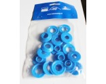 10 x blue plastic eye for bubble cover